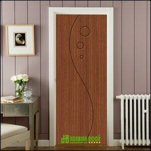 Cửa nhựa gỗ Sung Yu bền đẹp Mẫu: B-773