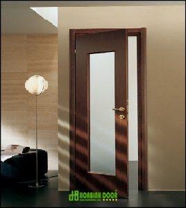 Cửa gỗ công nghiệp HDF giá rẻ KD.1A-C13