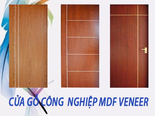 cửa gỗ công nghiệp tại quận 5