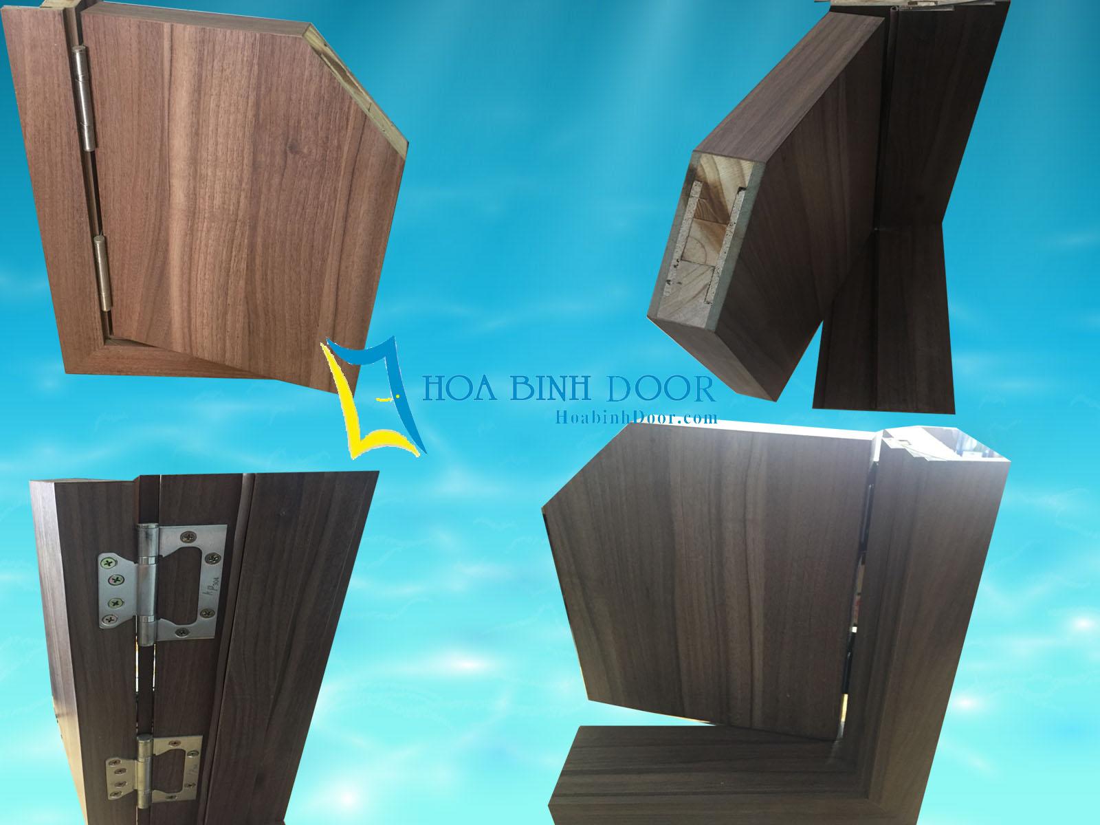 Báo giá cửa gỗ công nghiệp An Cường
